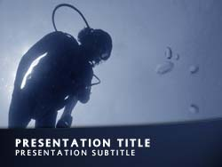 Scuba Diving Title Master slide design