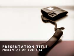 Telephone Title Master slide design