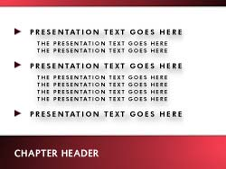 Communicate Print Master slide design