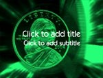 The Silver Dollar video background for PowerPoint