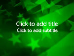 The Undulating Flag video background for PowerPoint
