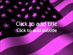 The Stars & Stripes video background for PowerPoint