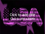 The USA video background for PowerPoint