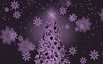 Christmas Tree PowerPoint Video Background