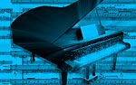 Grand Piano PowerPoint Video Background