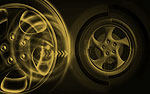 Wheels PowerPoint Video Background