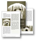 Puppy Dog Word Template