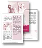 Ballet Dance Word Template