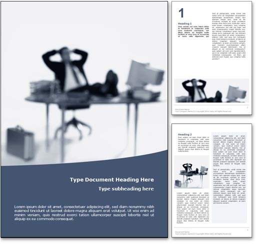 Outsourcing word template document