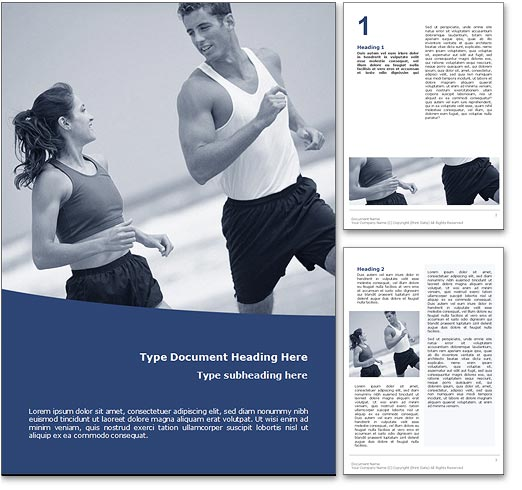 Keep Fit word template document
