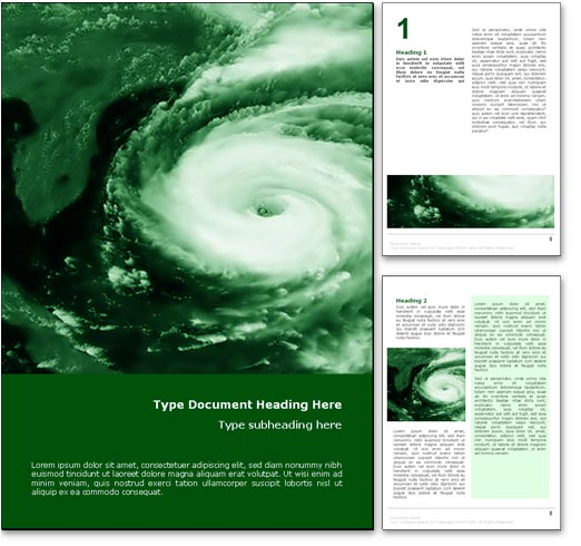royalty free hurricane weather microsoft word template in