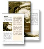 Hurricane Weather Word Template