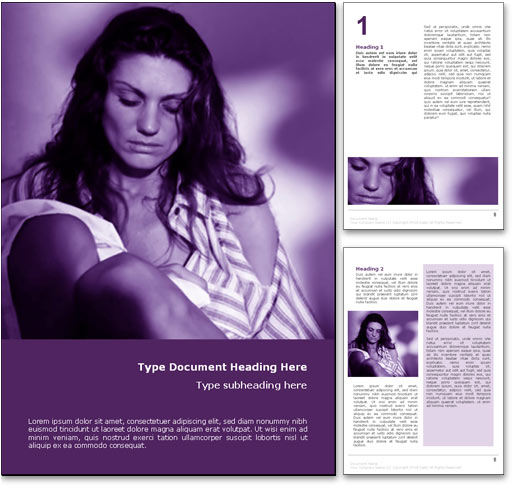 Royalty free domestic violence microsoft word template in purple domestic violence word template document toneelgroepblik Gallery