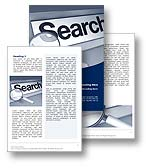 Online Search Word Template