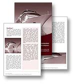 Cruise Word Template